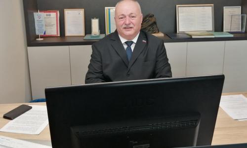 Predsednik Zveze paraplegikov Slovenije - Dane Kastelic